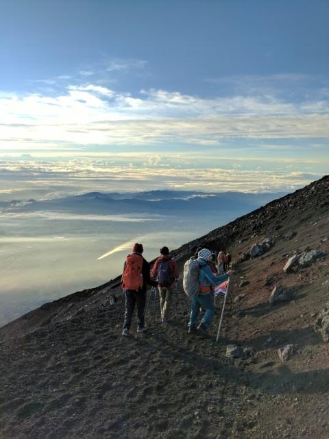 Fuji section 5 descent